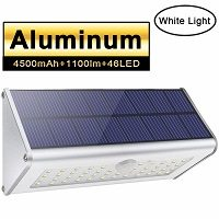 Foco Solar de aluminio